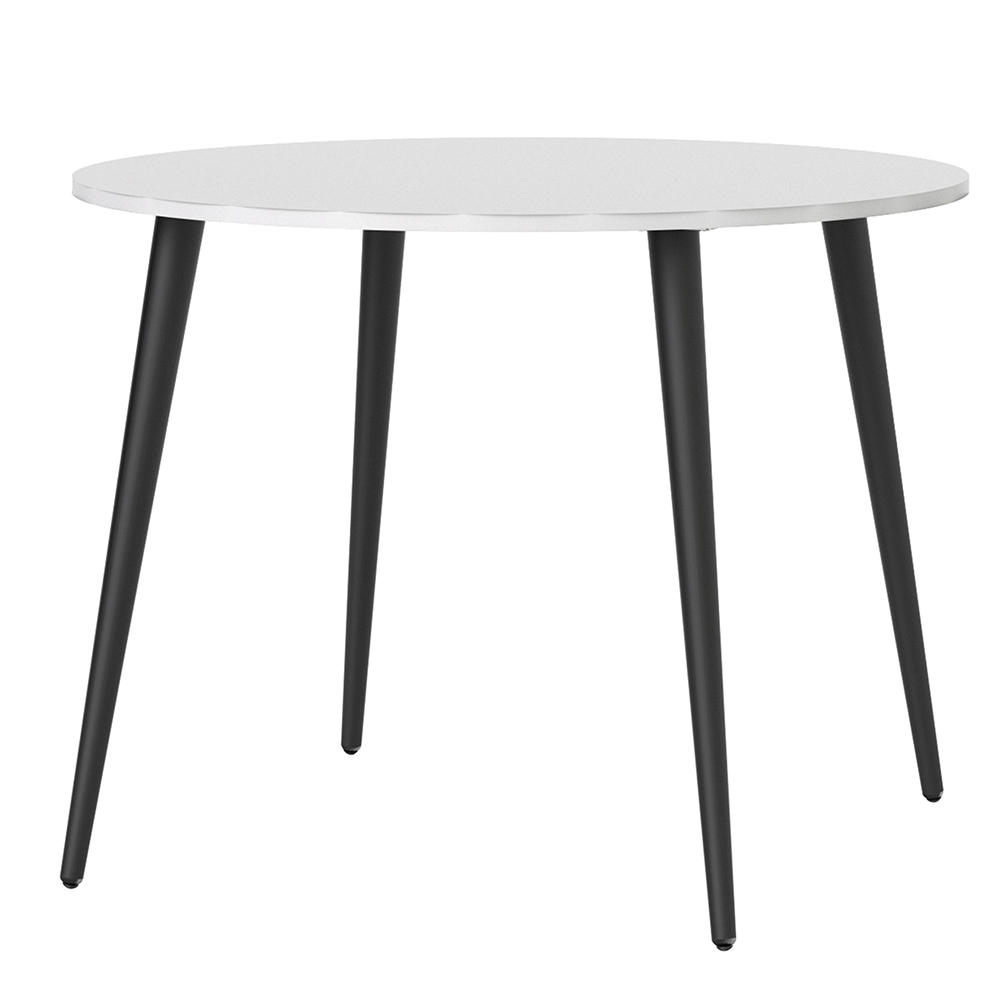 Oslo Small Dining Table Black White Chesterfield The Ashgate Furniture Company
